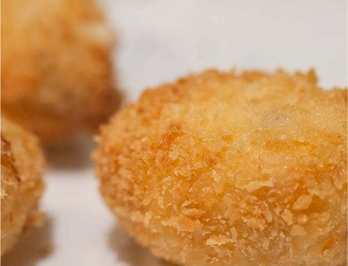 Big Manu Croqueta nominated for World's Best Croqueta by Madrid Fusion.